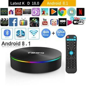 ★ T95Q ULTRA HDR 4K ★ ANDROID 8 TV BOX ★ IPTV AND KODI 18 ★