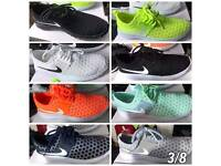 nike roshe sizes 3 to 8