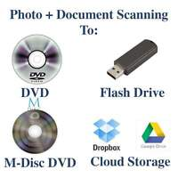 Affordable Photo and Document Scanning.