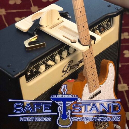 Pro Guitar Safe-T-Stand Secure On Stage Guitar Stand Model GP 1410 Deluxe Kit