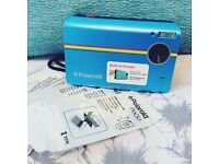 Polaroid Z2300 Blue Camera WITH 100 photo paper sheets