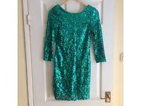 Oneness sequin mini dress