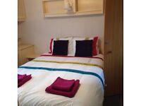 2 bedroom 6 berth caravan to rent in Clacton on Sea Essex