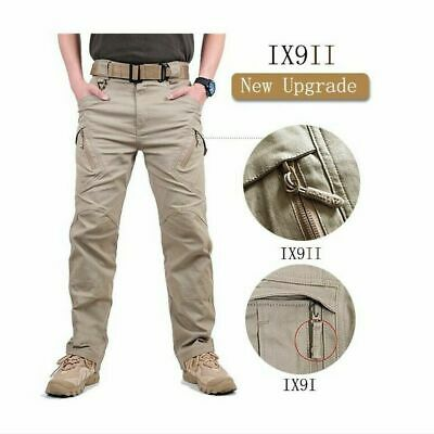 Army Military Pants (IX9/7 Military Tactical Cargo Pants Swat Army Training Hiking Hunting TrousersRO)