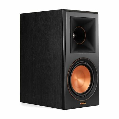 Klipsch RP-600M Regal-Lautsprecher, Ebony - Paarpreis! (UVP: 699,- €)