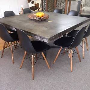 Indoor/ Outdoor Lightweight Concrete Dining Table 1500 x 1500 Toukley Wyong Area Preview