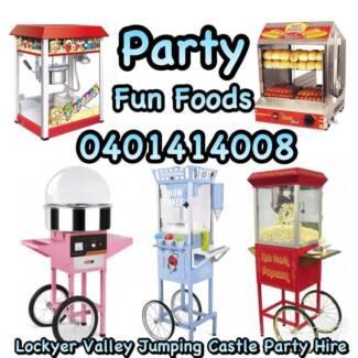 Jumping Castles, Fairy Floss, Snow Cone, Popcorn Machine Hire