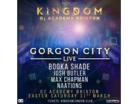GORGON CITY - 2 tickets for London