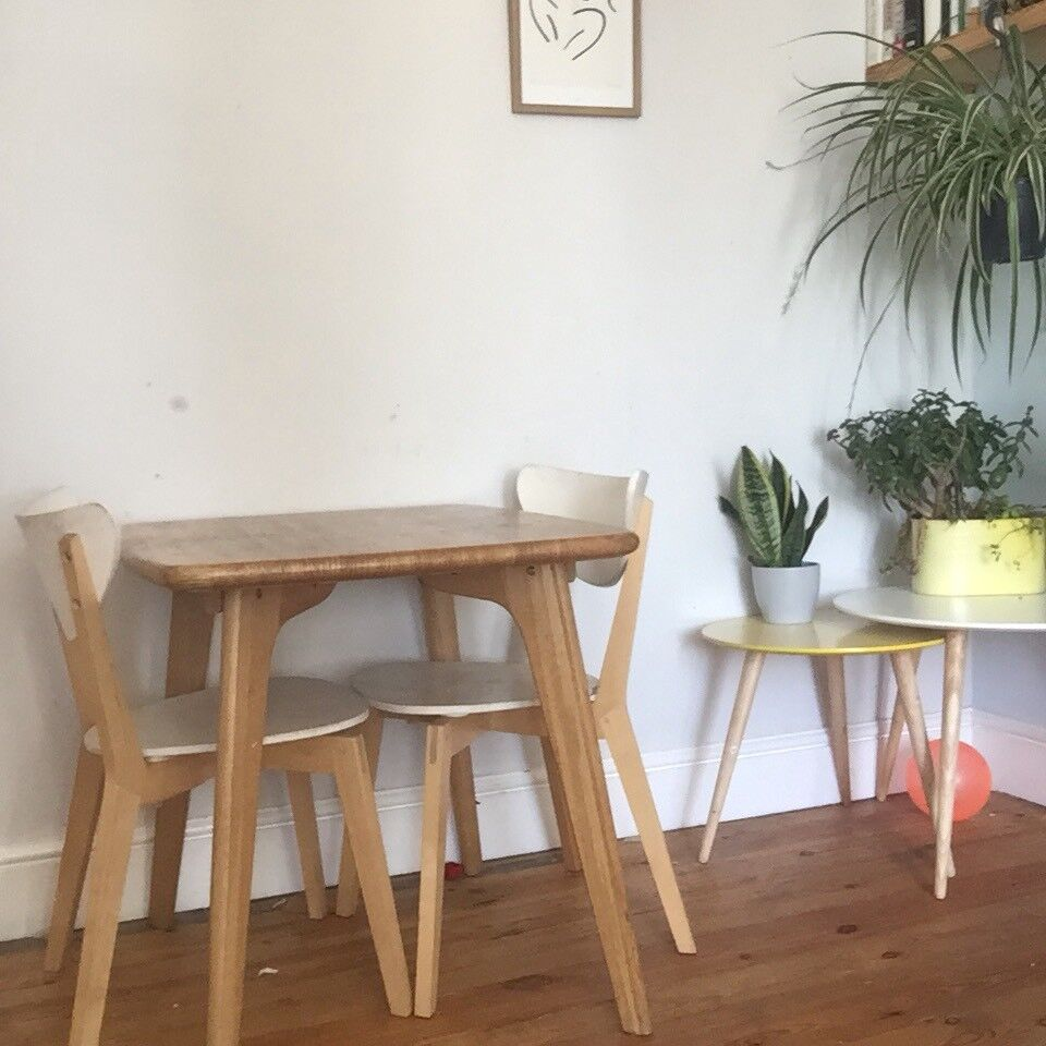 Scandi Style Compact Dining Table And Chairs From Made