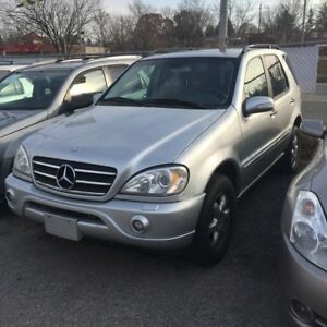 2002 Mercedes-Benz ML500 AFFORDABLE IMPORT LUXURY SUV