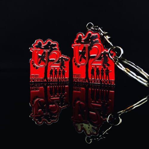 U2 Joshua Tree - Pin Badge & Keychain - New - Limited Edition - Rare