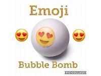 Emoji bubble bomb