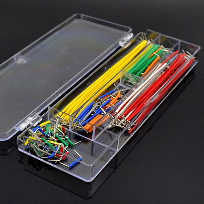 140pcsbox U Shape Solderless Breadboard Jumper Cable Wire For Diy Shield