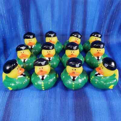 12 Army Rubber Ducks US Army Military Birthday Retirement Party JEEP