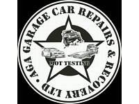 Aga garage repairs & Mot