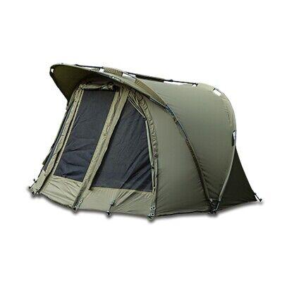 Saber Capsule Carp Fishing Bivvy Day Tent Shelter System + Ground Sheet