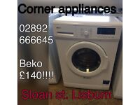 washing machines with warranty included
