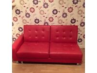 Bed settee with matching otterman