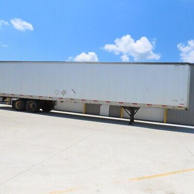 Trailmobile Type Se 2008 53ft 65000lbs Two Door Tandem Axle Semi Van Trailer