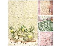 Flower wall 6ft by 4ft