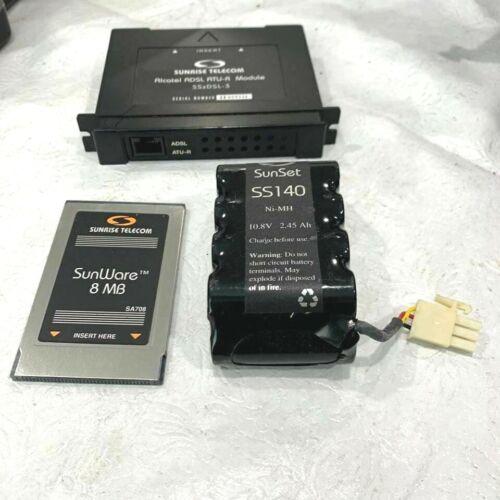 SUNRISE ALCATEL ADSL ATU-R MODULE SSXDSL-3+BATTERY+MEMORY 8 MB