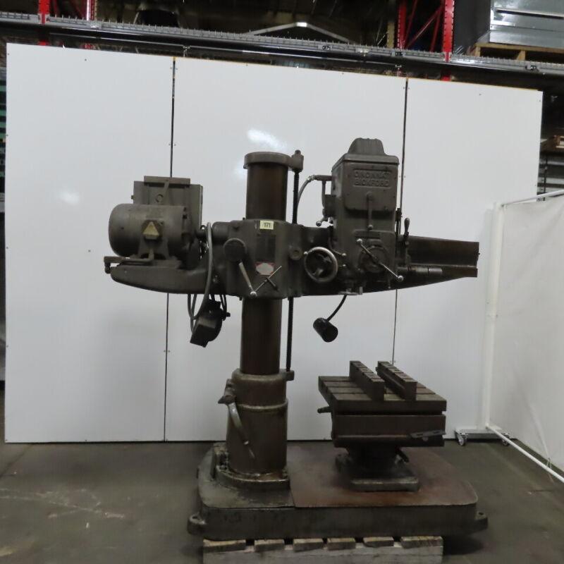 "Cincinnati Bickford 9""x40"" Radial Drill Press 45"" Column Travel  230/460V 3HP"