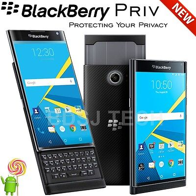 "BlackBerry Priv (32GB) 5.4"", 4G LTE UNLOCKED (GSM + VERIZON) STV100-2 (US Model)"