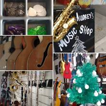 Audrey's Music Shop: Repairs, Lessons, New and Pre Loved Stock West End Brisbane South West Preview