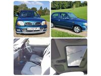 NISSAN MICRA AUTOMATIC, VERY LOW MILEAGE, 1 YEAR MOT, GOOD DRIVE,4 GOOD TYRE,LOW INSURANCE AND TAX