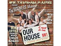 KEYBOARD PLAYER WANTED for Our house (the madness musical)