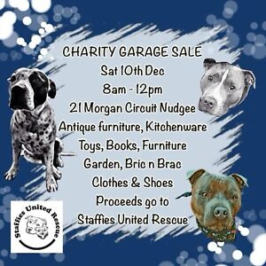 Charity Garage Sale Nudgee Brisbane North East Preview