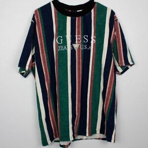 GUESS Jeans USA 1981 CAPSULE STRIPED T Shirt