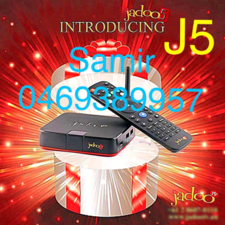 Latest Release JADOO5 Box4K2017. AIR MOUSE Free Delivery & Setup
