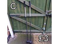Walking Poles (C) - £3 for pair