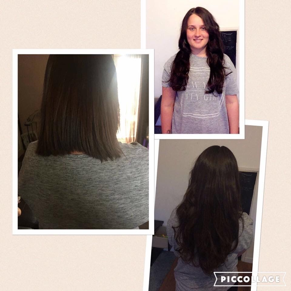 Full Head of Nano/Microrings/bonds AAAA* remy hair extensions