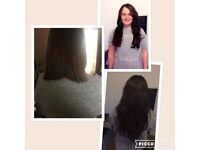 Full Head of Nano/Microrings/bonds AAAA* remy hair extensions £250