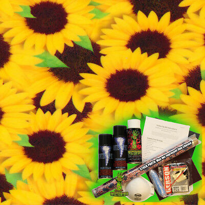 Hydrographics Dip Kit Activator Water Transfer Film Hydro Sunflower