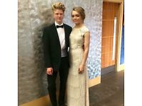 womens stunning prom dress size 10-12