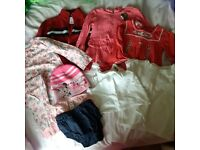 Girls clothes bundle 1-2years