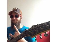 Guitar Lessons in North-West London: mainstream, underground and extreme genres included