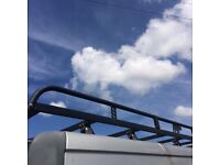 Full rhino roof rack from a Vauxhall vivaro will fit Renault trafic and Nissan primastar