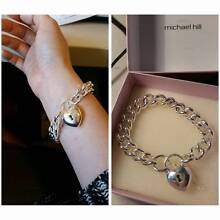 STERLING SILVER WOMENS LOCKET BRACELET Albury Albury Area Preview