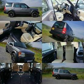 2006 Land Rover Discovery 3 TDV6, 12 MONTHS MOT, manual 6 speed, 7 seats PX