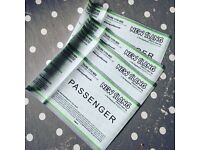 Passenger tickets x 2