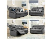 RECLINER LEATHER SOFA - BRAND NEW 3+2, 3+2+1 AND CORNER LEATHER SOFA - EXPRESS DELIVERY