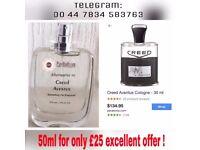Creed Aventus Perfume Spray Alternative