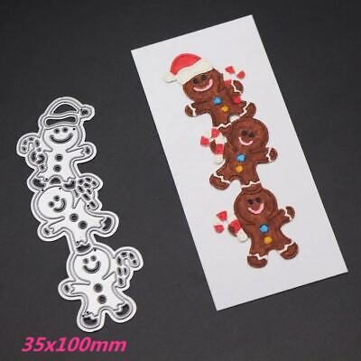 Gingerbread Man  Christmas  Metal Cutting Dies Stencils  Paper 'Cards Craft](Gingerbread Man Craft)