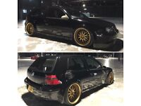 VOLKSWAGEN GOLF TURBO SHOWCAR ** Swap or pc possible**