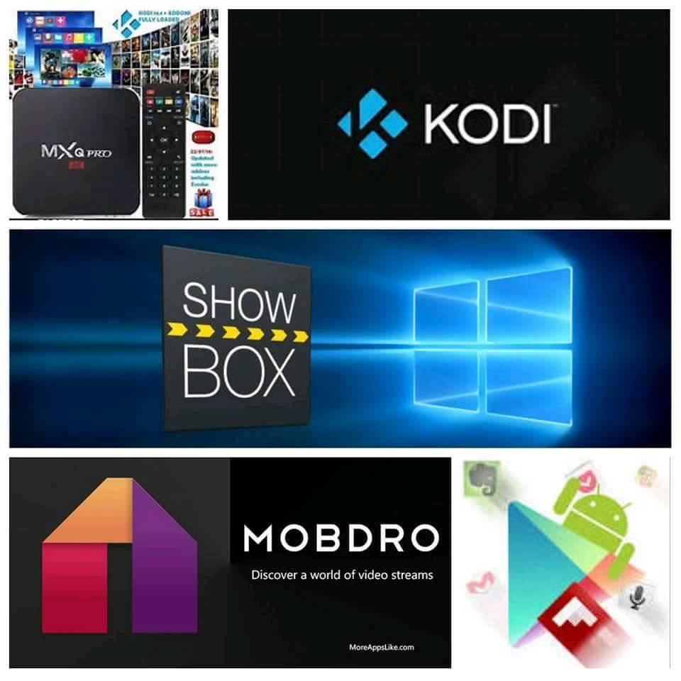 ANDROID TV BOX LATEST VERSION KODI ETC .