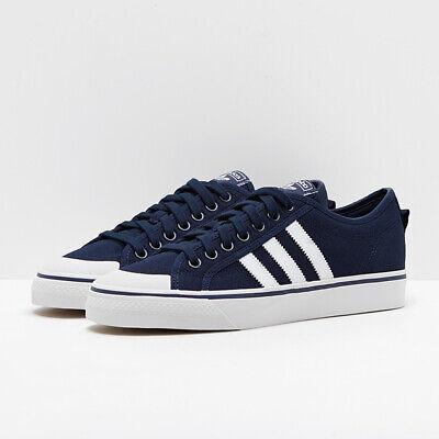 Adidas Nizza  Trainers Dark Blue Size 7 BNWB RRP £55